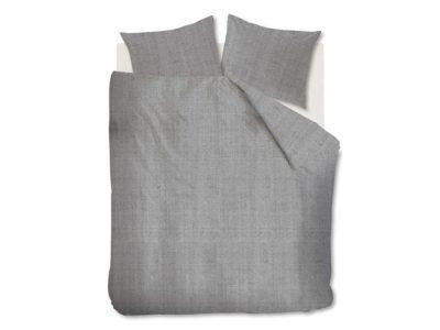 Auping dekbedovertrek Chambray grijs