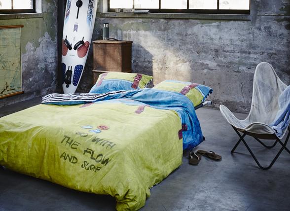 Covers & Co dekbedovertrek Backpack geel