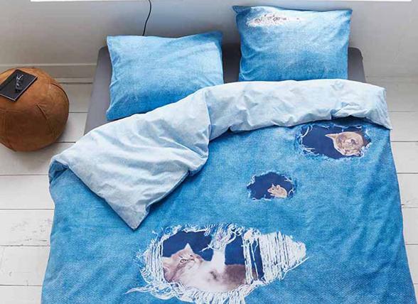 Covers & Co dekbedovertrek Ripped Jeans