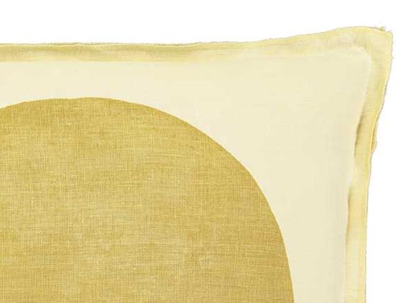 Marc O'Polo sierkussen Soli oil yellow