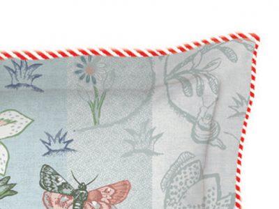 Pip Studio sierkussen Spring to Life blauw 45x45