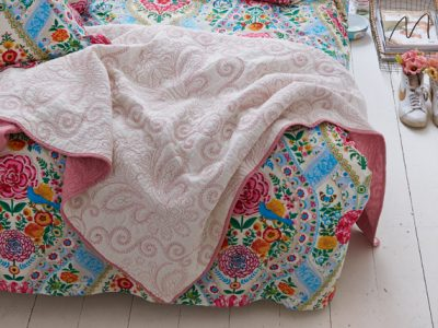 Pip sprei Feeling Quilty Quilt star white/bridal rose