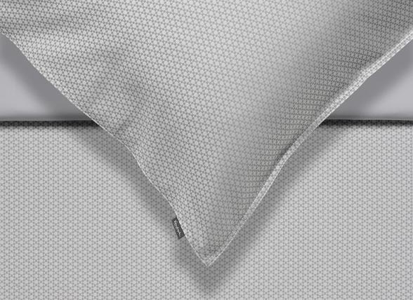 Vandyck dekbedovertrek Purity 80 cool grey