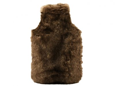Dome Deco Fake Fur luxe waterkruik brown