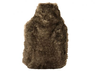 Dome Deco Fake Fur luxe waterkruik grey