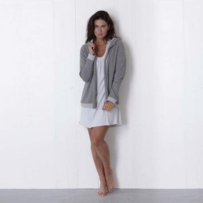 House in Style Dagmar Vest Light Grey