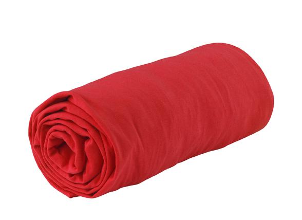 Essenza Home Jersey hoeslaken, rood