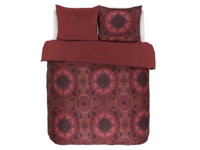 Essenza Home dekbedovertrek Cadiz rood