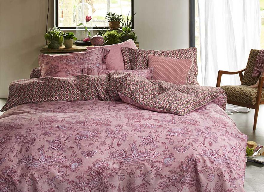 pip studio dekbedovertrek hide and seek roze. Black Bedroom Furniture Sets. Home Design Ideas