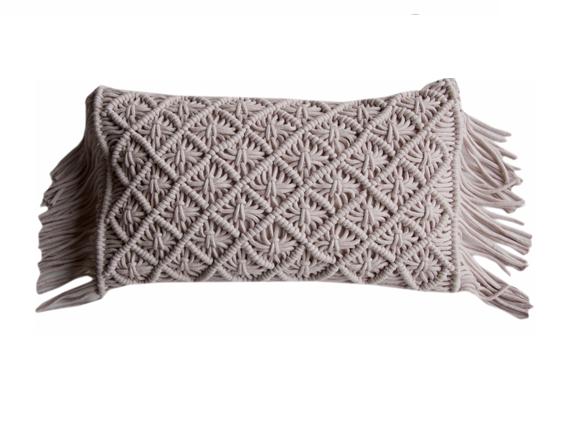 Flamant sierkussen Knitted Shell