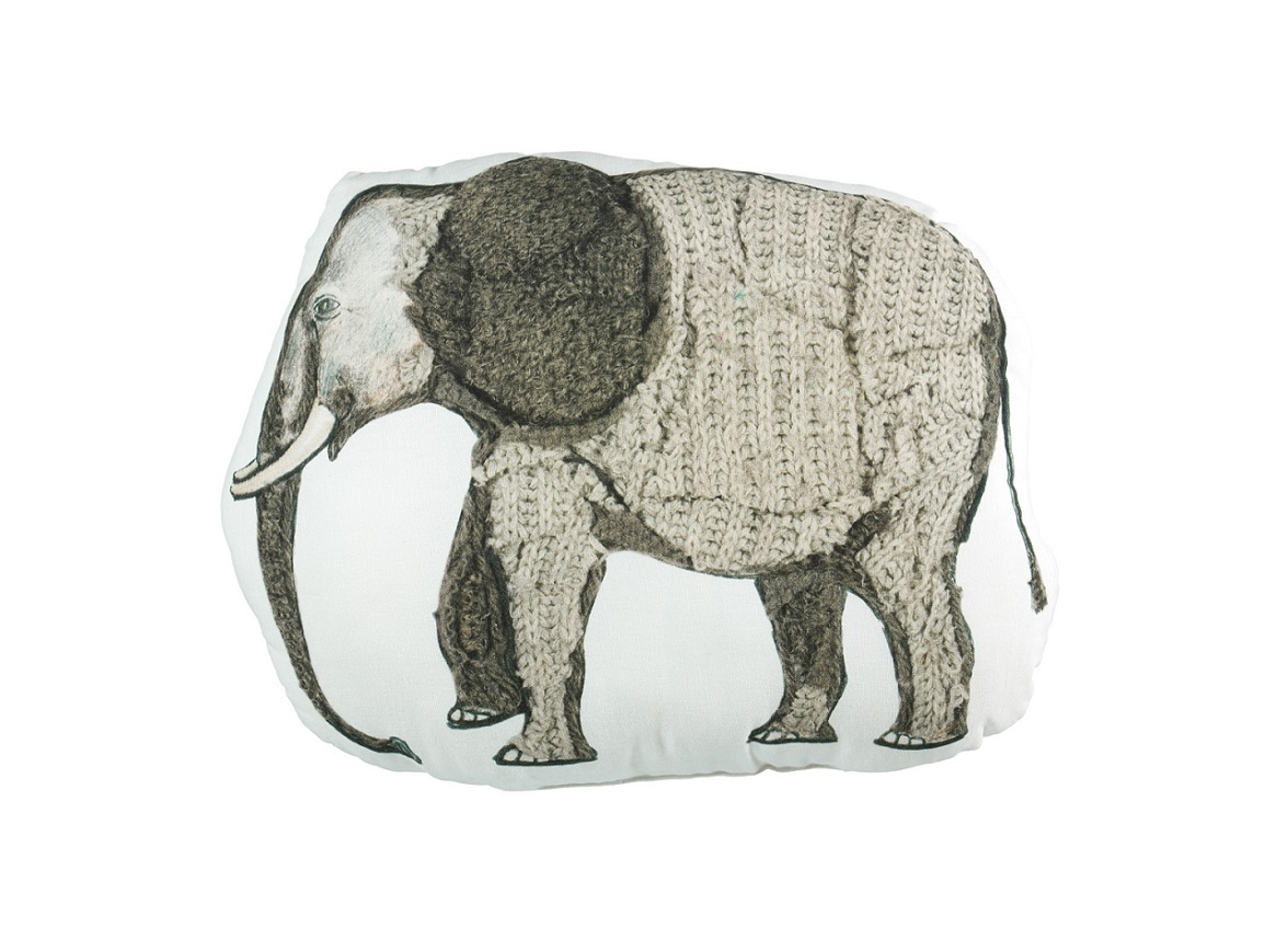 Beddinghouse sierkussen Elephant