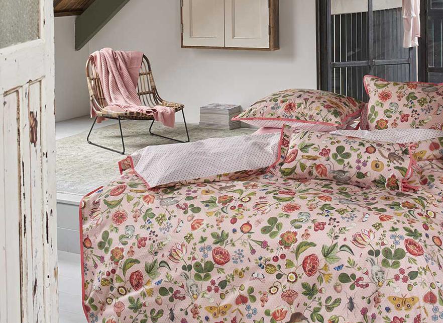 Pip Studio dekbedovertrek Woodsy roze