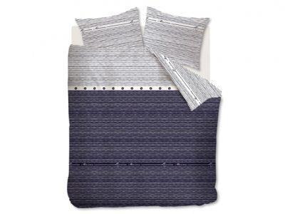 Riviera Maison dekbedovertrek Sylt Stripe blue
