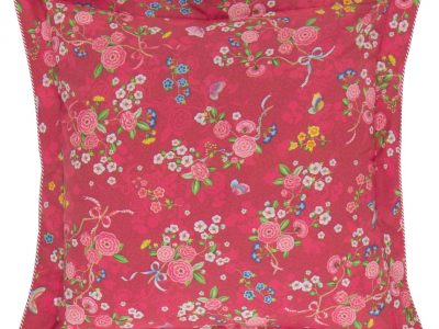Pip Studio sierkussen Chinese Rose Bouquet red 45×45