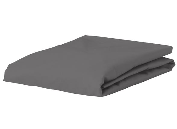 Morph Design satijn hoeslaken 300tc, antraciet
