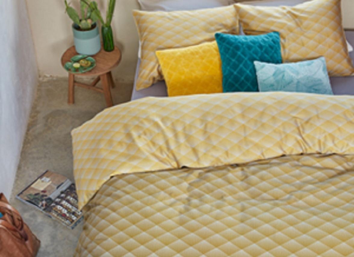 beddinghouse dekbedovertrek vinz gold. Black Bedroom Furniture Sets. Home Design Ideas