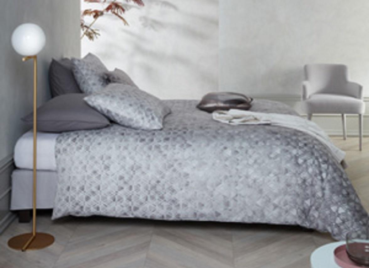 Kardol & Verstraten dekbedovertrek Affection grey