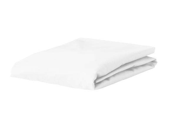 Morph Design satijn hoeslaken 300tc, wit