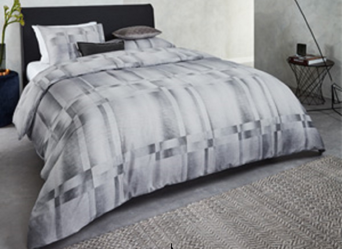 Kardol & Verstraten dekbedovertrek Titanium grey