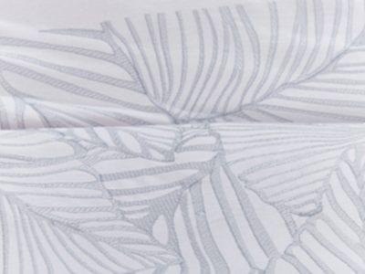 Oilily dekbedovertrek Vibrant Leaves light grey