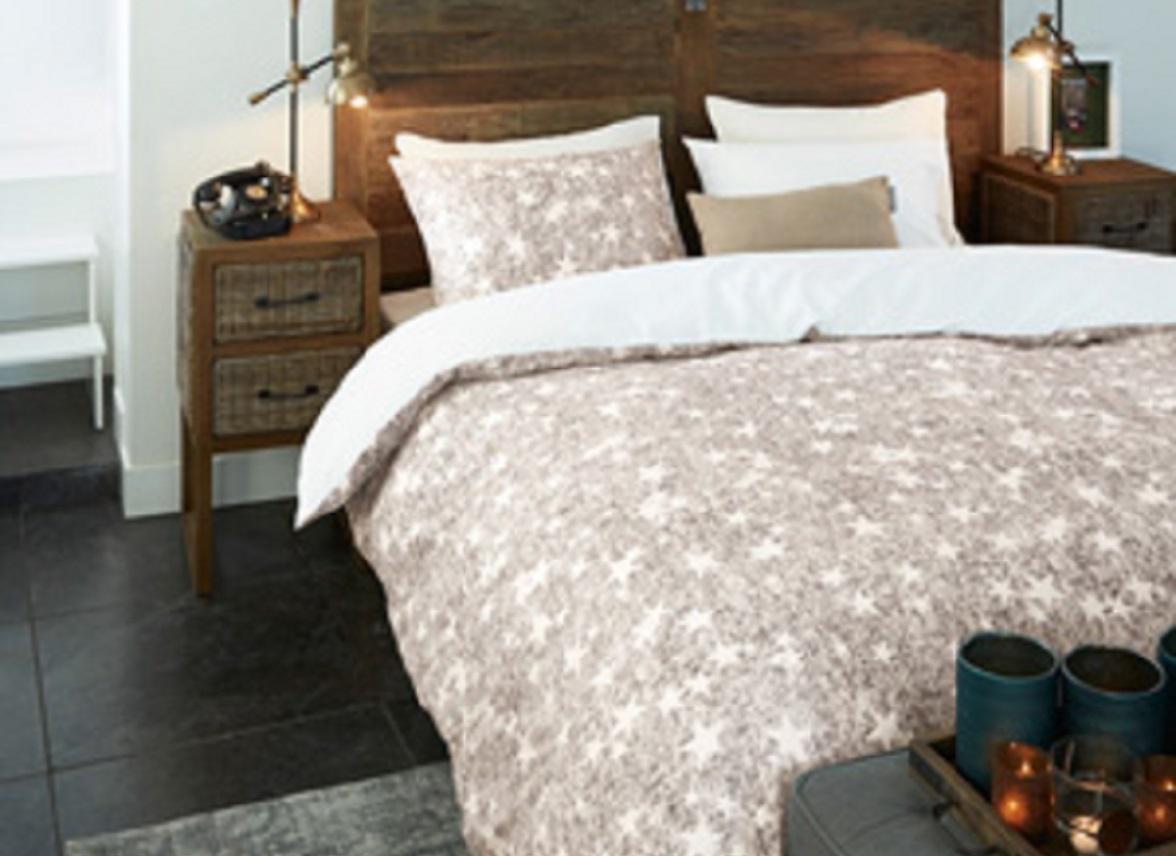 riviera maison dekbedovertrek counting stars silver. Black Bedroom Furniture Sets. Home Design Ideas