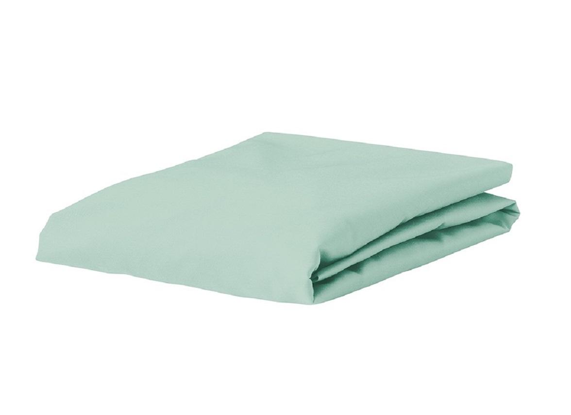 Essenza Home Premium Jersey hoeslaken, mint