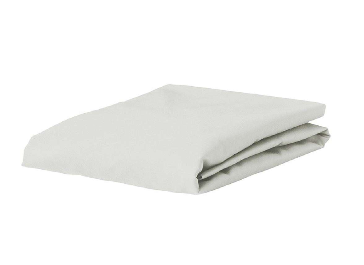 Essenza Home Premium Jersey hoeslaken, silver