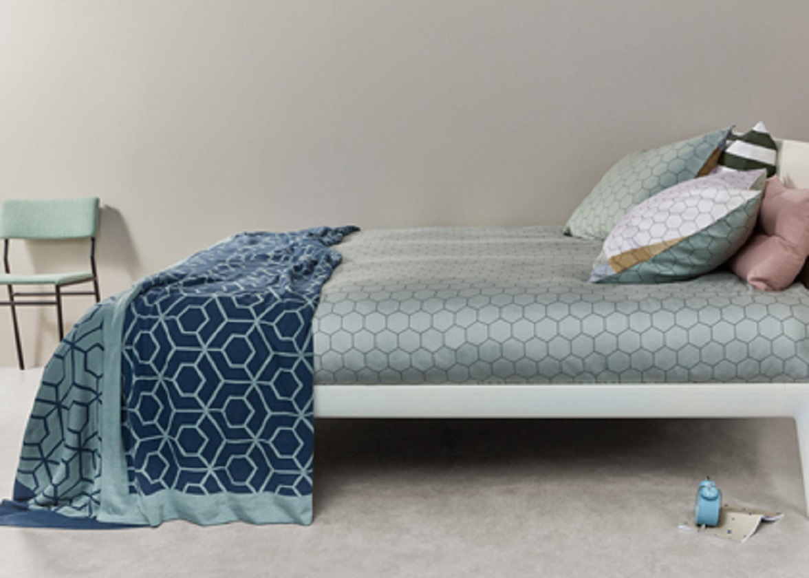 Auping sprei Aristotle blue