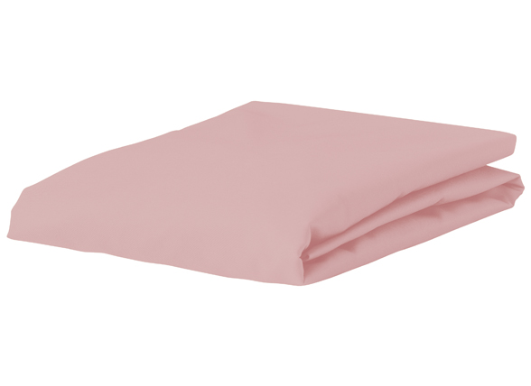 Morph Design perkal hoeslaken 200tc, roze