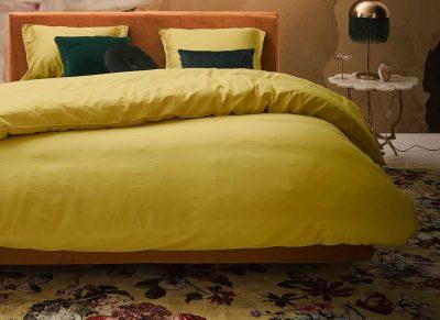 Essenza Home dekbedovertrek Minte golden yellow