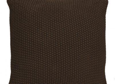 Marc O'Polo sierkussen Nordic Knit earth brown 50x50