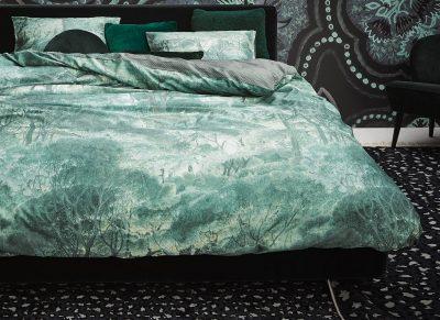 Essenza Home dekbedovertrek Tyas green