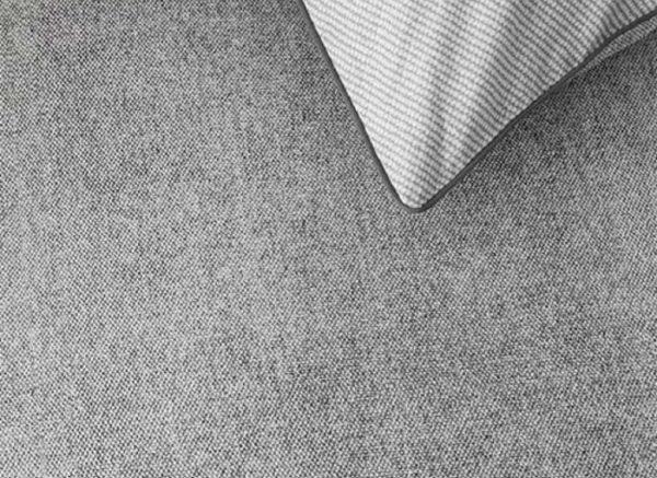 Riviera Maison dekbedovertrek Gingham grey