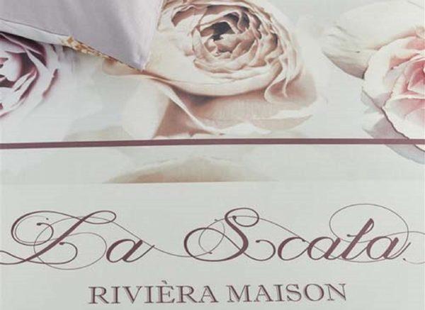 Riviera Maison dekbedovertrek La Scala nude
