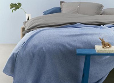 Auping sprei Two Tone blue