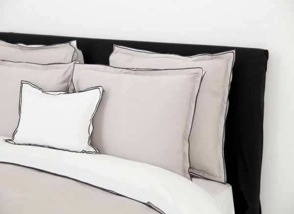 Flamant dekbedovertrek Zen stone/white