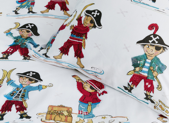 Beddinghouse dekbedovertrek Pirates