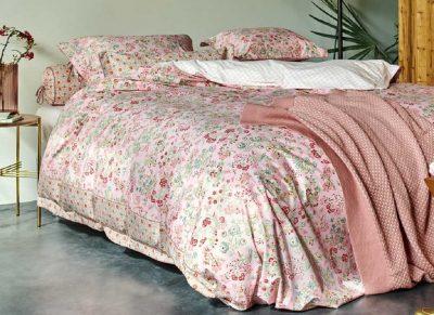Pip Studio dekbedovertrek Jaipur Flower roze