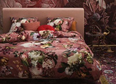 Essenza Home dekbedovertrek Fleur dusty rose