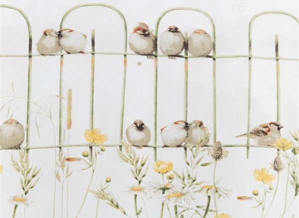Marjolein Bastin dekbedovertrek Garden Fence natural