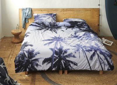 Covers & Co dekbedovertrek Palmera blue
