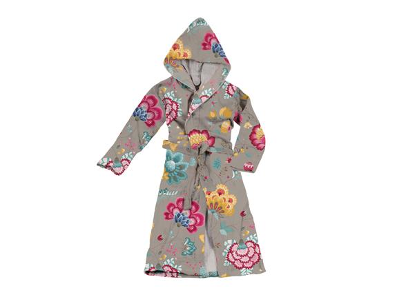 Pip badjas Floral Fantasy khaki