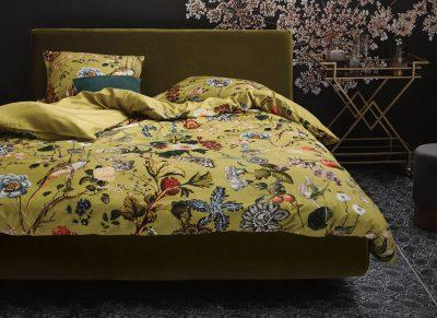 Essenza Home dekbedovertrek Xess golden yellow
