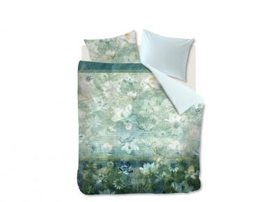 Kardol & Verstraten dekbedovertrek Nymph blue green