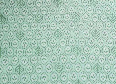 Pip Studio hoeslaken Leaves green