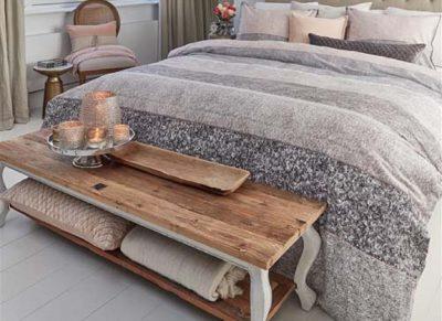 Riviera Maison dekbedovertrek Softness nude
