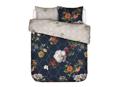 Essenza Home dekbedovertrek Abigail dark blue
