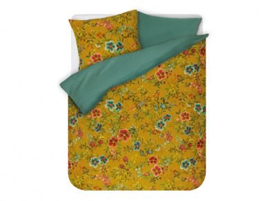 Pip Studio dekbedovertrek Floral Delight yellow