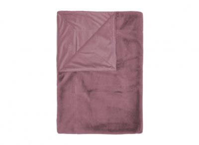 Essenza Home plaid Furry dusty lilac