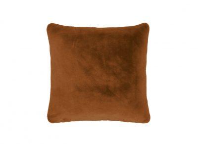 Essenza Home sierkussen Furry leather brown